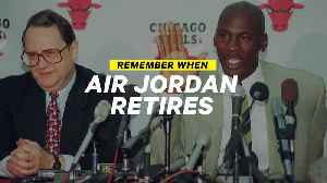 Remember When: Michael Jordan Leaves Basketball for Baseball [Video]