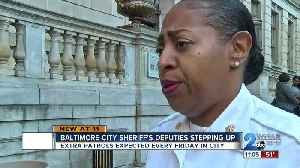 Baltimore City Sheriff's Office steps in to help fight crime in city [Video]