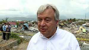 News video: UN chief tours disaster-hit Indonesia as World Bank pledges aid