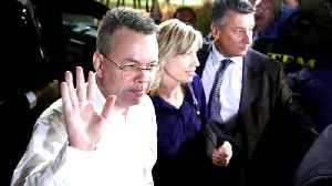 US pastor Andrew Brunson leaves Turkey after release [Video]
