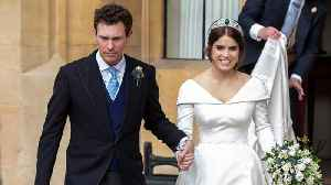 Royals Step Out For Princess Eugenie's Wedding [Video]