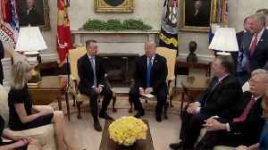Trump Meets With Pastor Andrew Brunson In Oval Office [Video]