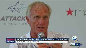 Greg Norman re-launches