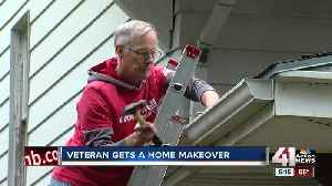 Volunteers make over homes for those in need [Video]