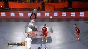 Table tennis meets football in Teqball World Cup [Video]