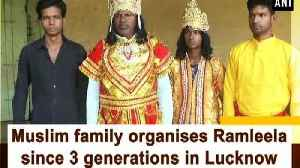 Muslim family organises Ramleela since 3 generations in Lucknow [Video]