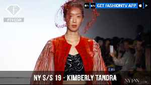 New York Fashion Week Spring/Summer 2019 - Kimberly Tandra | FashionTV | FTV [Video]