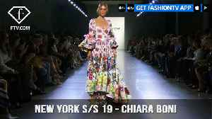 New York Fashion Week Spring/Summer 2019 - Chiara Boni | FashionTV | FTV [Video]