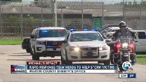 Martin County Sheriff's Office sends Rapid Response Team to assist storm victims [Video]