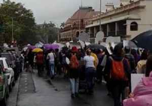 Supporters of Abortion Decriminalisation March in Brisbane [Video]