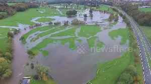 Drone footage shows flooding in Cumbria, UK [Video]