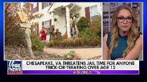 Trick-or-treaters over 12 could face jail time in Virginia [Video]