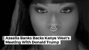 Azealia Stands By Kanye West Politics [Video]