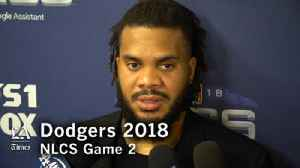 Kenley Jansen on the big win in NLCS Game 2 [Video]