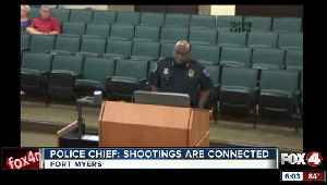 Police chief says there is a connection in recent shootings [Video]