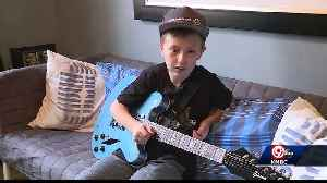 Shawnee boy shows Foo Fighters he can play a mean guitar [Video]