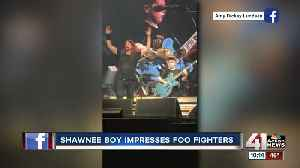 Shawnee 10-year-old, Collier Rule, shreds on stage with Foo Fighters [Video]