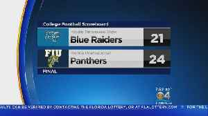FIU Beats Middle Tennessee 24-21 [Video]