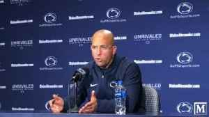 Penn State's James Franklin: Our margin of error is small [Video]