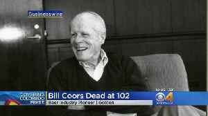 News video: William Coors, Former Chairman Of Coors Brewing Company, Passes Away