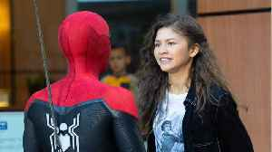 Tom Holland And Zendaya Spotted Filming Spider-Man [Video]