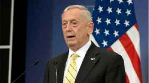 News video: President Trump Says Defense Secretary Mattis Is