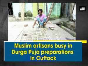 Muslim artisans busy in Durga Puja preparations in Cuttack [Video]