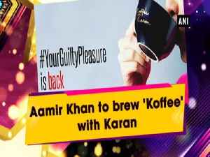 Aamir Khan to brew 'Koffee' with Karan [Video]