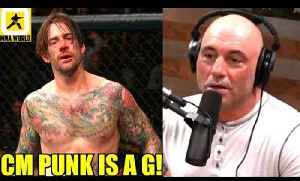 CM Punk deserves to be in the Octagon Because he works his butt off,Joe Rogan on CM Punk,GSP [Video]