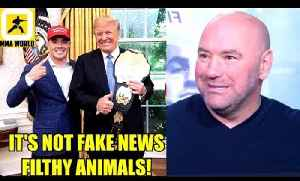 Dana White keeps his promise meets President Donald Trump in the White House,TJ on Cody,Cejudo [Video]