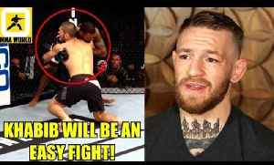 Khabib won't be able to secure even a single take-down against Conor McGregor?,Tony Ferguson [Video]