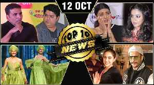 Sajid Khan Accused, Sushmita Sen On Harassment, Akshay Kumar Strong Action & More | Top 10 News [Video]