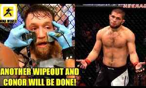 In The Rematch with Khabib if Conor McGregor gets wiped out again then he'll be done,Joe Rogan [Video]