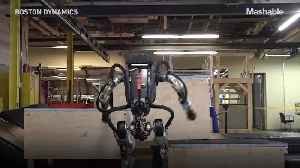 Boston Dynamics 'parkour' robot took more than 20 attempts to nail it [Video]