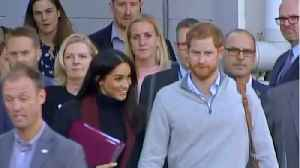 Meghan & Harry Arrive In Australia To Kick Off Royal Tour [Video]