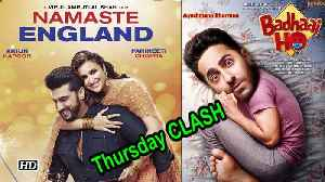 Dussehra DHAMAKA, 'Badhai Ho' Thursday CLASH 'Namaste England' [Video]
