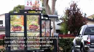 Study Finds Burger King to Be America's Fastest Drive-Thru Chain [Video]