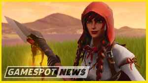 Epic Adds In-Game Tournaments To Fortnite And Sues Cheaters [Video]