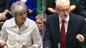 Watch: May v Corbyn on the state of Brexit Negotiations [Video]