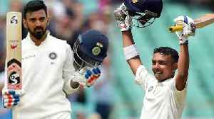 Prithvi Shaw recieves special gift from KL Rahul on his debut series | वनइंडिया  [Video]