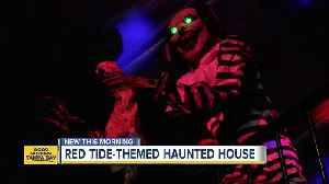Haunted house in Largo raising money for Red Tide beach cleanup [Video]