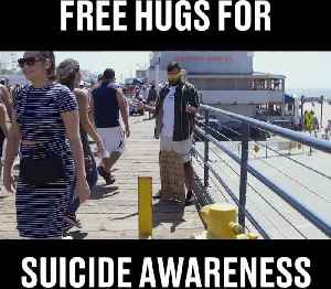 The Amazing Campaign About Free Hugs For Suicide Awareness [Video]