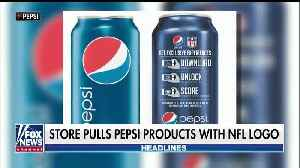 Alabama grocery store won't sell Pepsi products with NFL logo [Video]