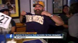Milwaukee-area bars host watch parties for Brewers, Packers Monday night games [Video]