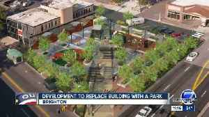 Brighton is demolishing an old building to make way for a new plaza [Video]