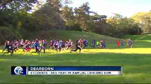 Students take part in annual Cipriano run [Video]