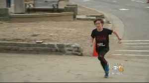 Fifth Grader Runs 50 5K's In 50 Days For Grandpa's Lung Cancer [Video]