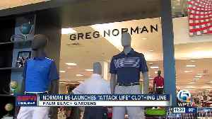 Greg Norman Re-Launches Clothing Line [Video]