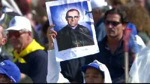 News video: Vatican: Oscar Romero, Pope Paul VI canonized