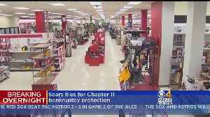 Sears Files For Bankruptcy Protection [Video]
